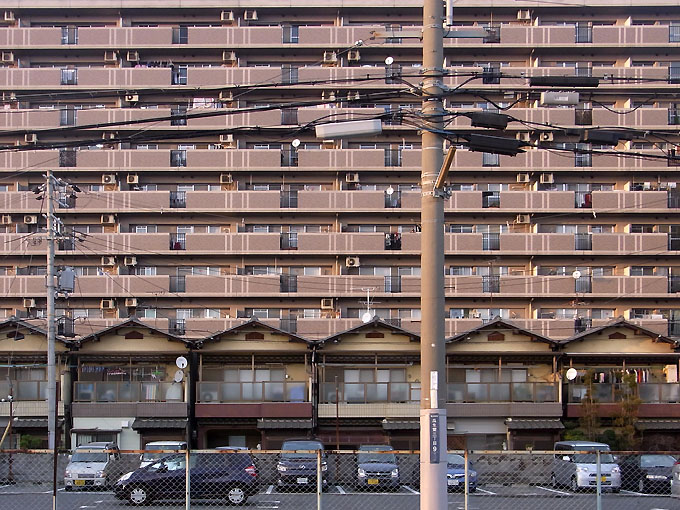東大阪に見る衛星都市の住環境(の、ひとつ)。: 大阪 アホげな小発見 ...