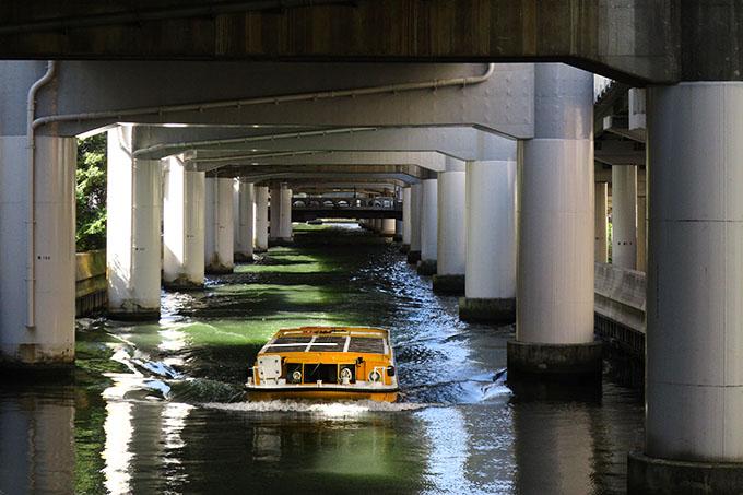 安堂寺橋から東横堀川の眺め15時06分。: 大阪 アホげな小発見。とか